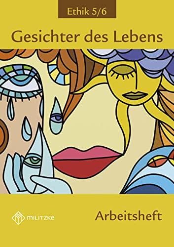 9783861895503: Gesichter des Lebens 5/6. Arbeitsheft. Sachsen-Anhalt