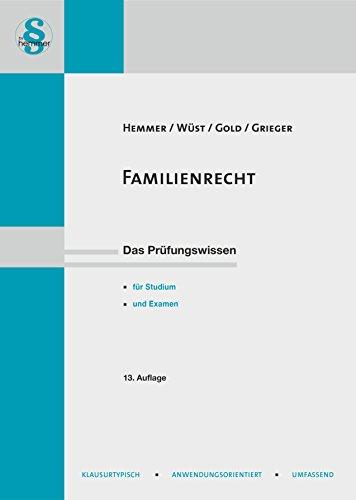 Familienrecht: Karl E. Hemmer