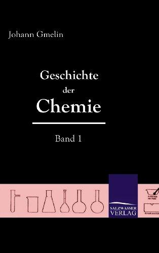 9783861950158: Geschichte Der Chemie (Band 1) (German Edition)