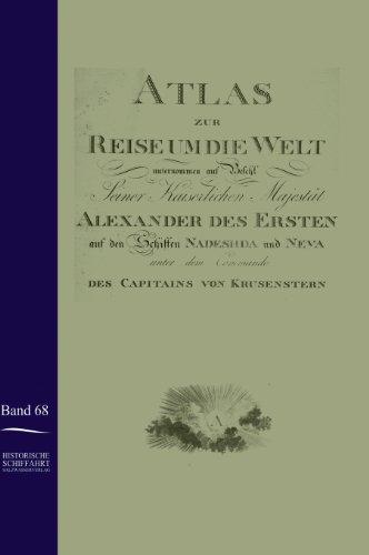 9783861950554: Atlas Zur Reise Um Die Welt Von Ivan Krusenstern in Den Jahren 1803-1806 (German Edition)