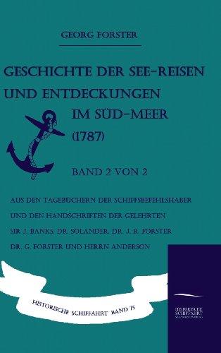 9783861950622: Geschichte Der See-Reisen Und Entdeckungen Im Sud-Meer (1787) Band 2 Von 2