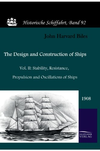 9783861950943: The Design and Construction of Ships (1908)