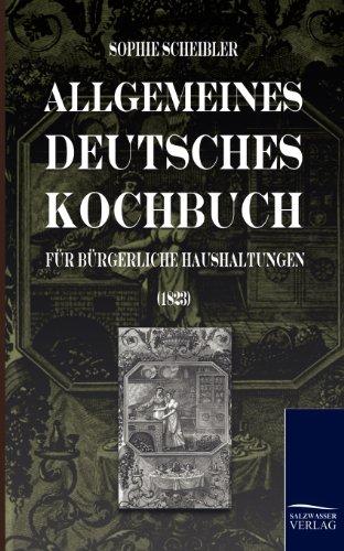 9783861951117: Allgemeines Deutsches Kochbuch