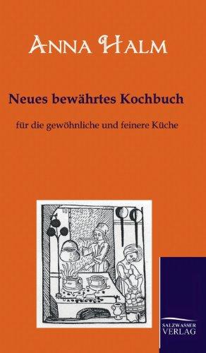 Neues bewährtes Kochbuch: Anna Halm
