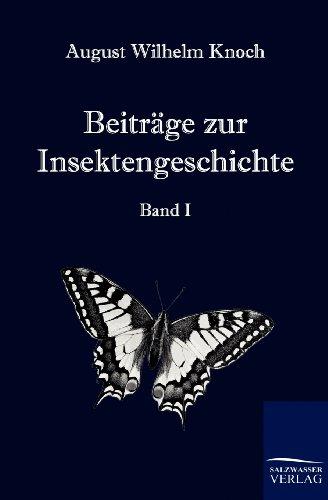 9783861955412: Beiträge zur Insektengeschichte
