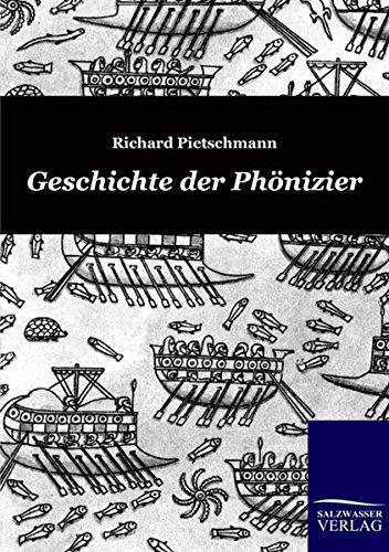Geschichte der Phönizier: Richard Pietschmann