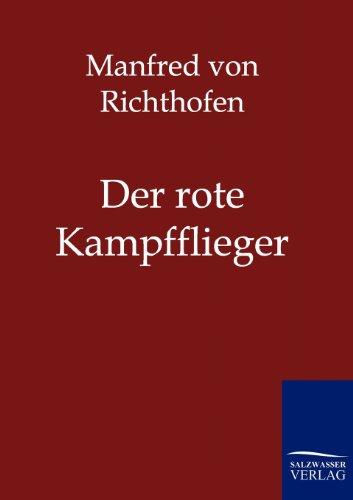 9783861958147: Der rote Kampfflieger (German Edition)