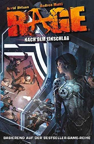 9783862013111: Rage 01. Nach dem Einschlag