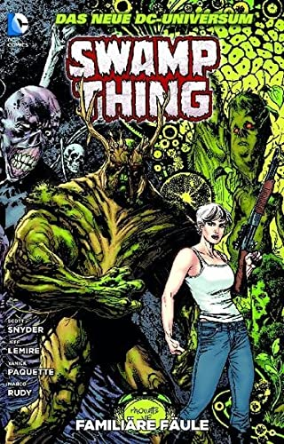 9783862016211: Swamp Thing 02: Famili�re F�ule