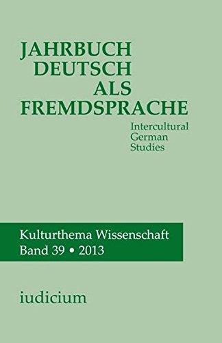 Jahrbuch Deutsch als Fremdsprache / Intercultural German Studies: Andrea Bogner