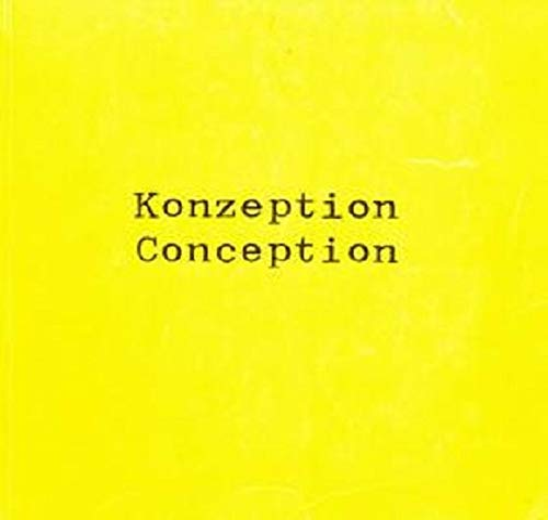 9783862064298: More Konzeption Conception Now
