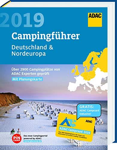 ADAC Campingführer Nord 2019: ADAC Campingführer Deutschland & Nordeuropa 2019: Über 2900 Campingplätze von ADAC Experten geprüft : mit herausnehmbarer Planungskarte und ADAC Campcard. Über 2900 Campingplätze von ADAC Experten geprüft - ADAC Medien und Reise GmbH