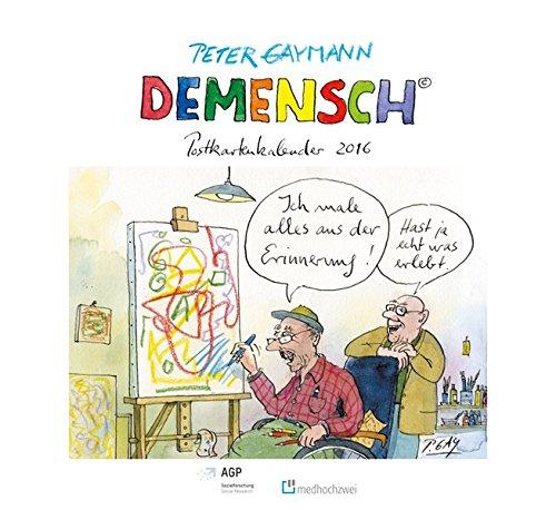 9783862162444: Demensch Postkartenkalender 2016