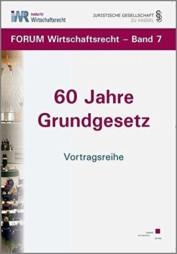 9783862190027: 60 Jahre Grundgesetz: Vortragsreihe
