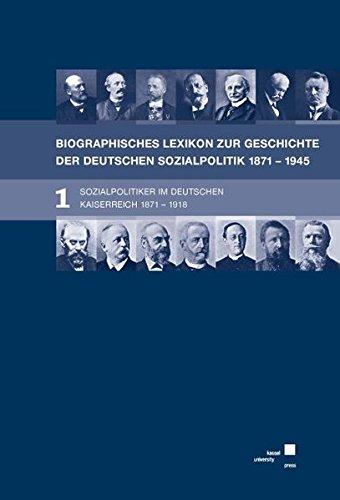 Biographisches Lexikon zur Geschichte der deutschen Sozialpolitik 1871 bis 1945: Eckhard Hansen