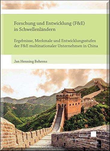 Forschung und Entwicklung (F&E) in Schwellenländern: Jan Henning Behrens