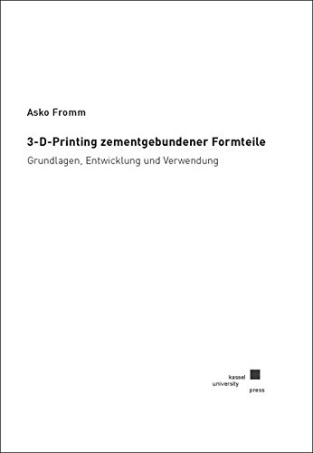 3-D-Printing zementgebundener Formteile: Asko Fromm
