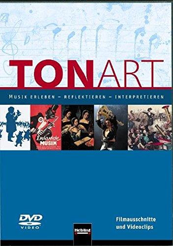 9783862270507: TONART. DVD (Regionalausgabe B): Musik erleben - reflektieren - interpretieren. Filmausschnitte und Videoclips [Alemania]
