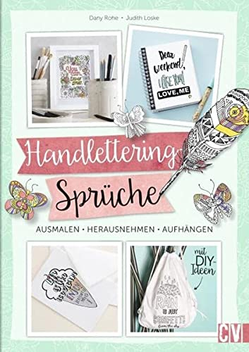 9783862303496 Handlettering Spruche Zum Ausmalen Ausmalen
