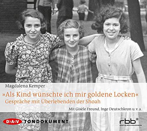 """9783862312481: Kemper, M: """"Als Kind wünschte ich mir goldene Locken""""/4 CDs"""