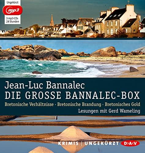 9783862316021: Die große Bannalec-Box: Ungekürzte Lesungen mit Gerd Wameling