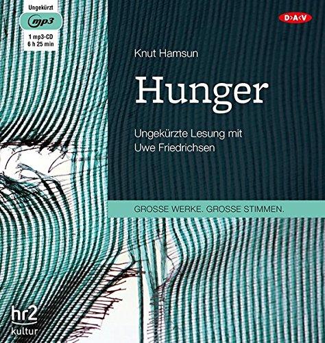Hunger, 1 MP3-CD: Hamsun, Knut /