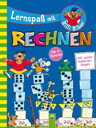 9783862330195: Lernspa� mit Billi Biber - Rechnen: Mit extra Materialbogen: Lernkarten zum Ausschneiden