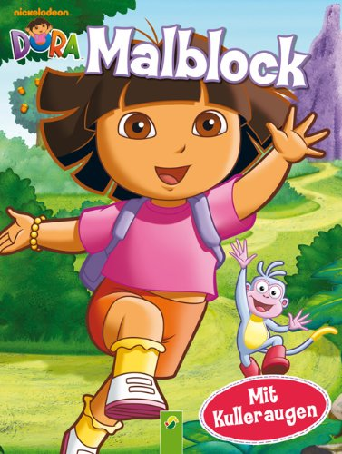 9783862331925: Dora - Malblock mit Kulleraugen
