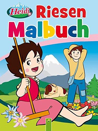 9783862333011: Riesenmalbuch Heidi