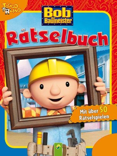 9783862333059: Bob der Baumeister Rätselbuch rot: Mit über 50 Rätselspielen
