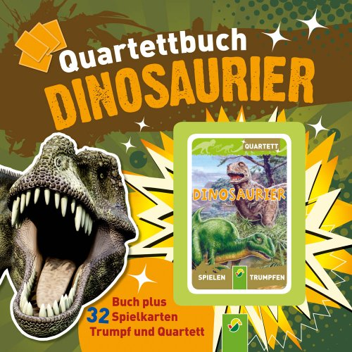 9783862333134: Quartettbuch Dinosaurier