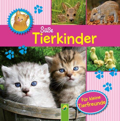 9783862336456: Süße Tierkinder: Fotobilderbuch für kleine Tierfreunde