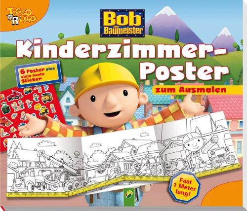 9783862337309: Bob Budowniczy Plakaty do kolorowania