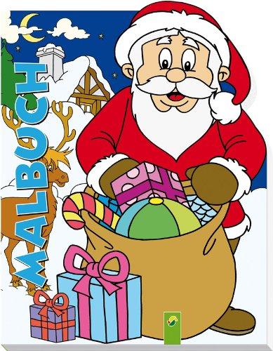 9783862338115: Weihnachten Konturenmalbuch