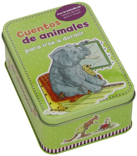 9783862338313: Cuentos De Animales Para Irse A Dormir (Caja Metálica)