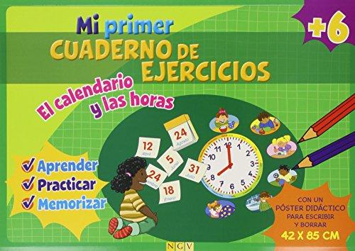 9783862338443: CALENDARIO Y LAS HORAS.(MI PRIMER CUADERNO DE EJERCICIOS)