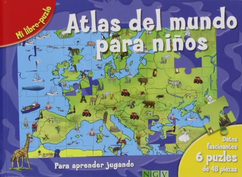 9783862338504: ATLAS DEL MUNDO PARA NIOS.(LIBRO-PUZLE)
