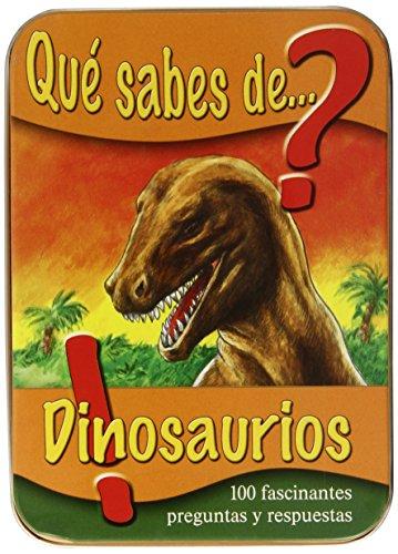 9783862338528: QUE SABES DE DINOSAURIOS-CAJITA-(N.ED.)