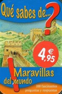 9783862338764: Qué Sabes De Maravillas Del Mundo (Caja Metálica)