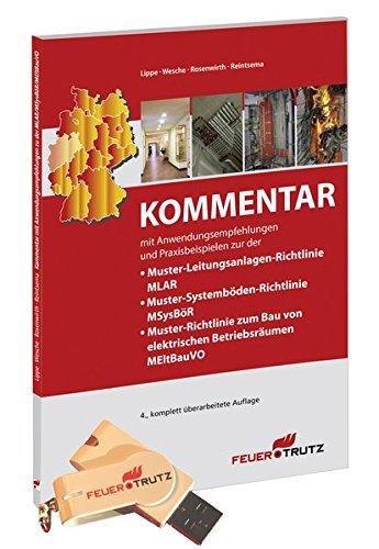 9783862351138: Kommentar zur MLAR auf USB-Stick: Kommentar zur Muster-Leitungsanlagen-Richtlinie (MLAR), Muster-Systemböden-Richtlinie (MSysBöR), ... Anwendungsempfehlungen und Praxisbeispielen