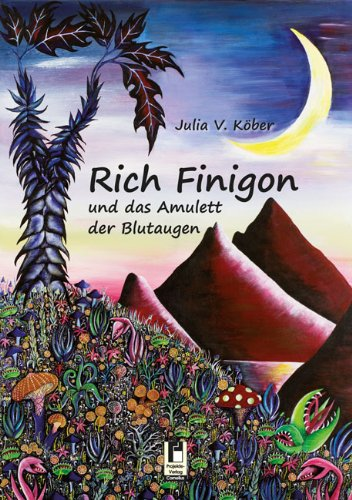 9783862376445: Rich Finigon und das Amulett der Blutaugen