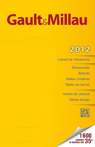9783862441112: Gault Millau Guide France 2012