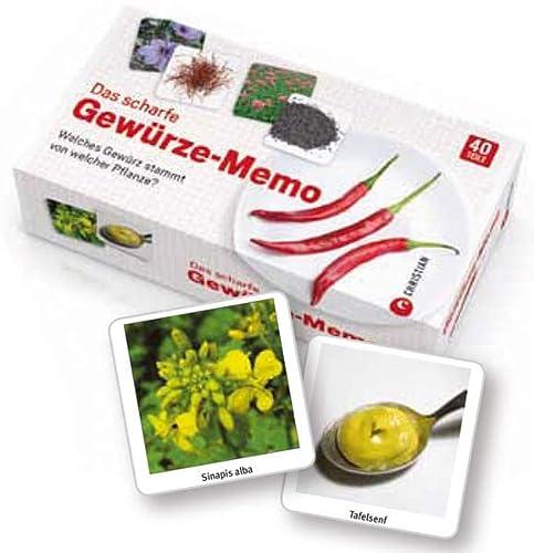 9783862442720: Das scharfe Gewürze-Memo: Welches Gewürz stammt von welcher Pflanze?