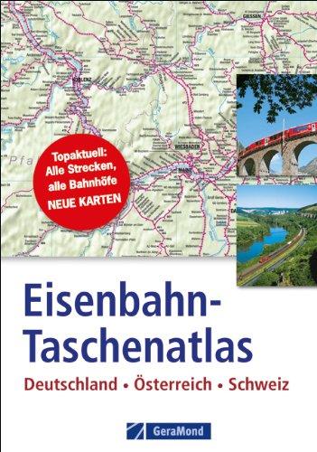 9783862451142: Eisenbahn-Taschenatlas Deutschland, Österreich, Schweiz