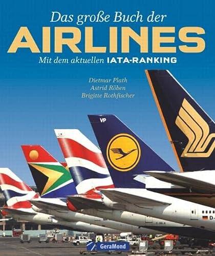 Das große Buch der Airlines: Mit dem: Rothfischer, Plath Röben