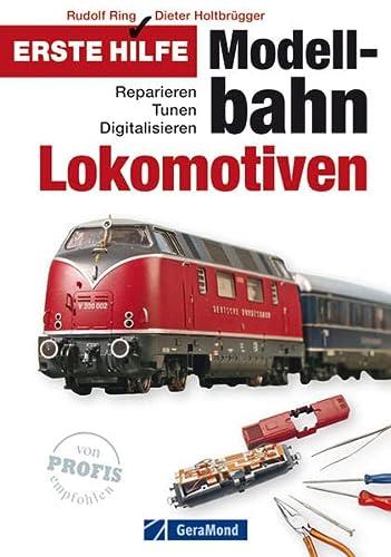 9783862455133: Erste Hilfe Modellbahn-Lokomotiven