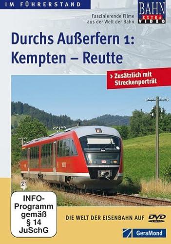 9783862459087: Durchs Außerfern Teil 1 - Kempten - Reutte [Import allemand]
