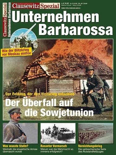 9783862459377: Clausewitz Spezial 12. Unternehmen Barbarossa
