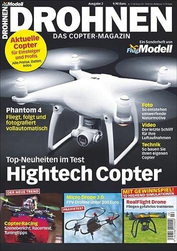 9783862459414: Drohnen Ausg. 2: Das Copter Magazin
