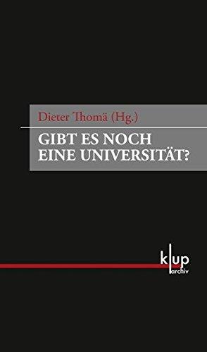 9783862530304: Gibt es noch eine Universität?. Zwist am Abgrund - eine Debatte in der Frankfurter Zeitung 1931/32